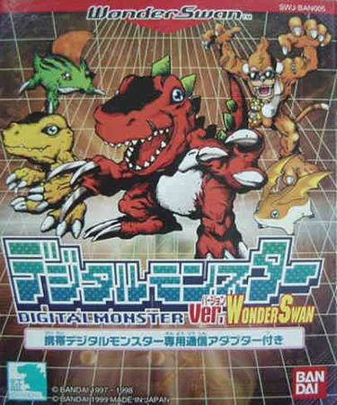 Digimon Digital Monsters For Wonderswancolor (j)